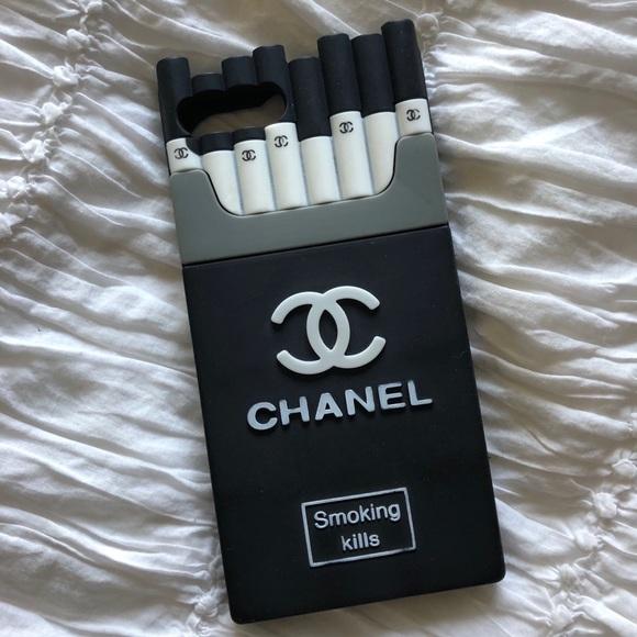 detailed pictures 99f8c 87846 Chanel cigarette iPhone 7 Plus / 8 plus case